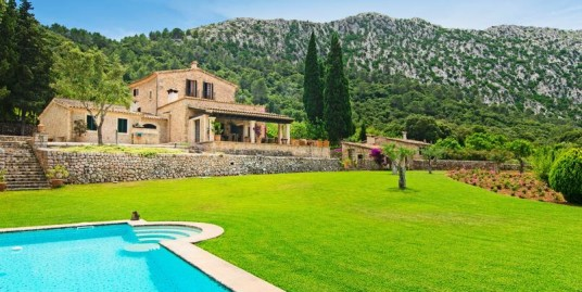 Country estate with fabulous view in Pollensa – Mallorca North W-023D52